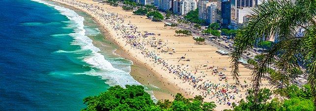 Foto Pacote Praia de Copacabana
