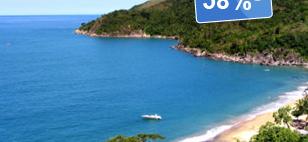 Oferta: Chales Ilha Beach, Ilhabela, R$ 169 | Hotel Urbano