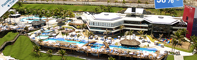Oferta: Ocean Palace Beach Resort & Bungalows, Natal, R$ 1.790 | Hotel Urbano