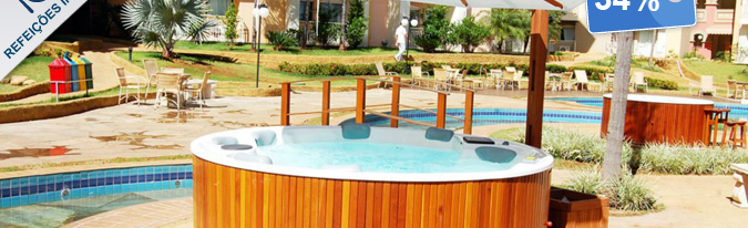 Oferta: Thermas de Olimpia Resort, Olimpia, R$ 1.290 | Hotel Urbano